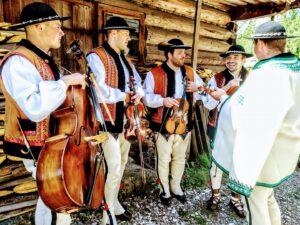 sylwester w górach kapela góralska